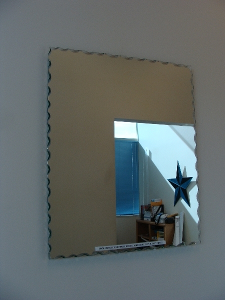 Clear Mirror With Chipped Polished Edges Dwight S Glass