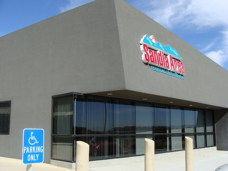 Sandia area federal credit union 2 commercial storefront