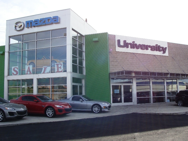 university-mazda-commercial-storefront – Dwight's Glass