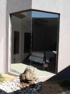 Albuquerque glass window installation